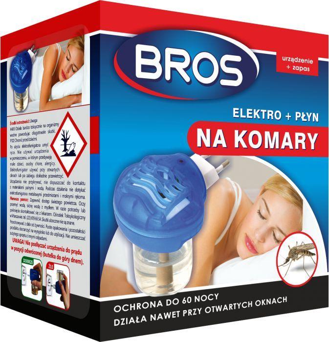 Bros Elektro+płyn na komary 1