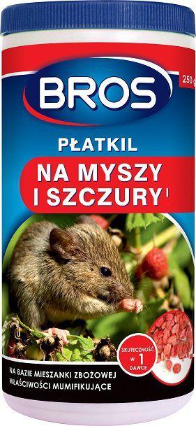 Bros Płatkil na myszy i szczury 50g 1