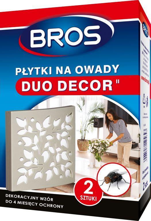 Bros Płytki na owady Duo-Decor 2szt. 1