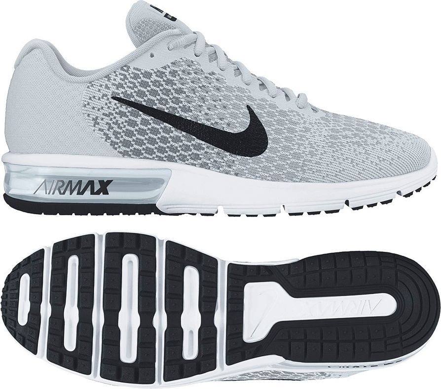 Nike Buty damskie Air Max Sequent 2 szare r. 39 (852465 001) w Sklep presto.pl