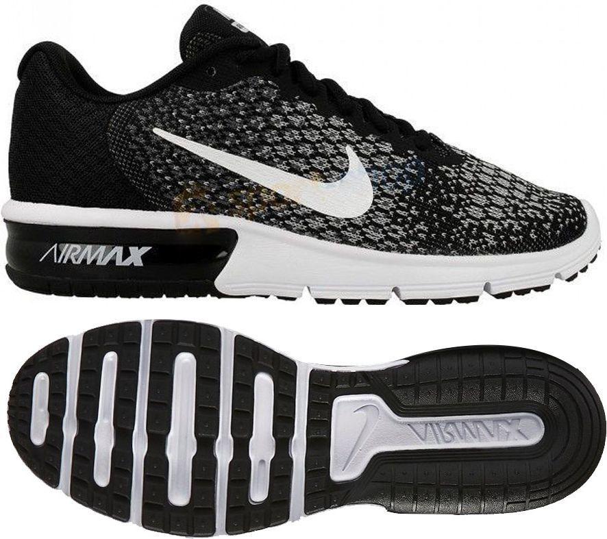 9df18c474ed4d Nike Buty damskie Air Max Sequent 2 czarne r. 36.5 (852465 403) w  Sklep-presto.pl