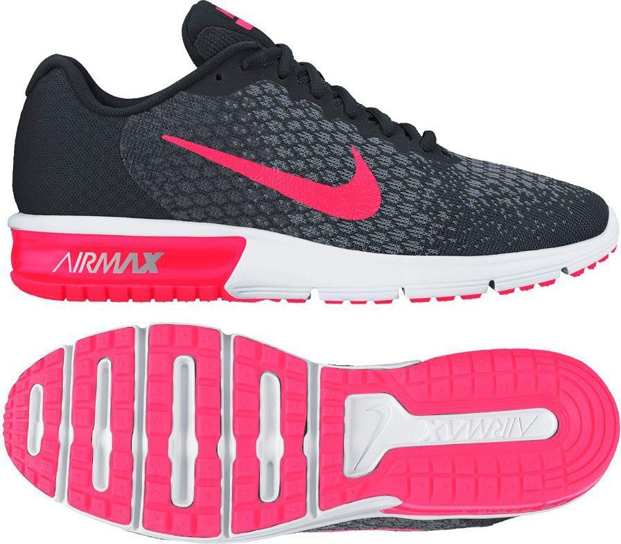 Nike Buty damskie Air Max Sequent 2 czarne r. 38 (852465 006) ID produktu: 1561558