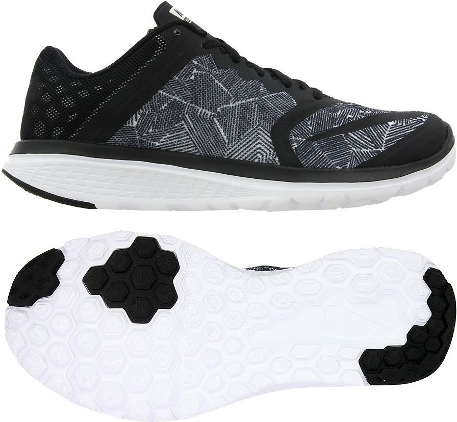 6866db47 Nike Buty damskie FS Lite Run 3 Print czarne r. 36 1/2 (819167 001) w  Sklep-presto.pl