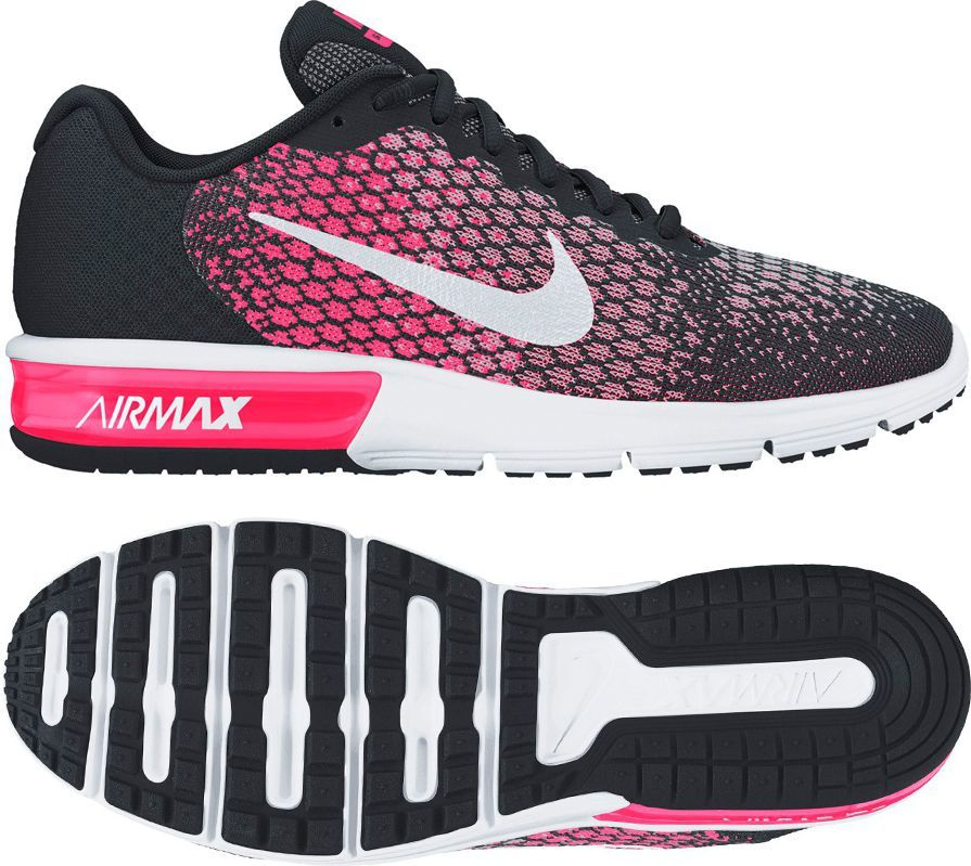 Nike Buty damskie Air Max Sequent 2 czarne r. 38 12 (852465 002)