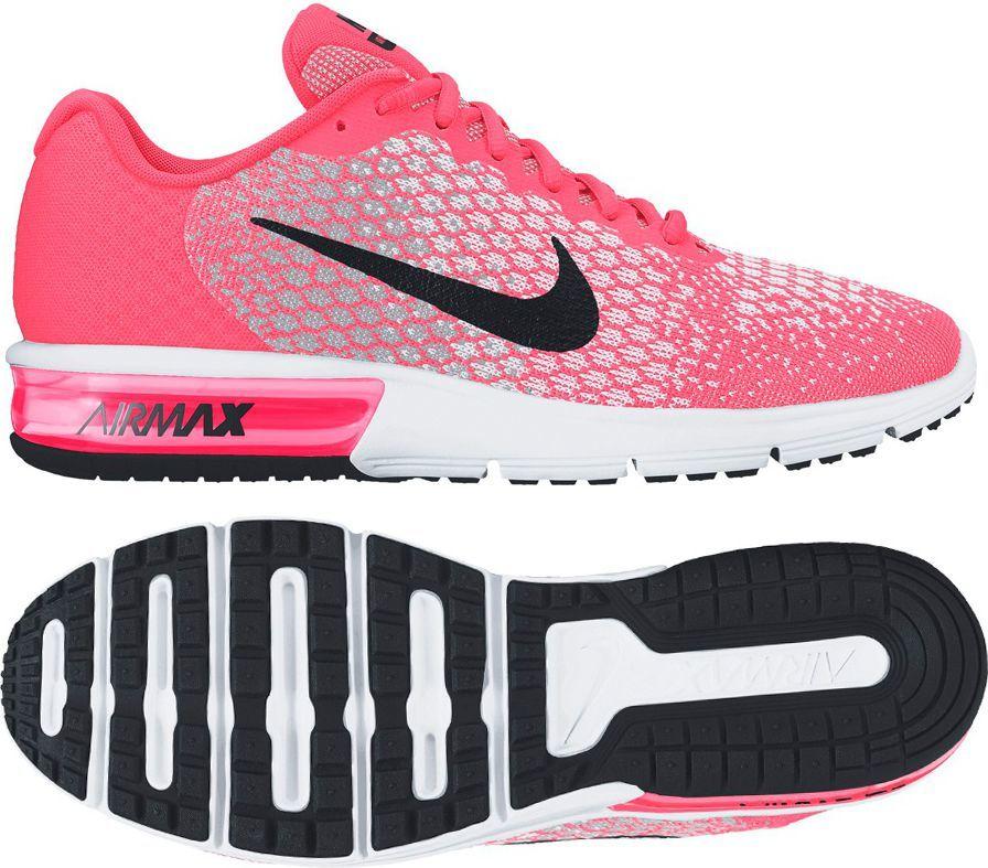 wyprzedaż w sklepie wyprzedażowym tania wyprzedaż innowacyjny design Nike Buty damskie Air Max Sequent 2 różowe r. 38 1/2 (852465 600) ID  produktu: 1561633