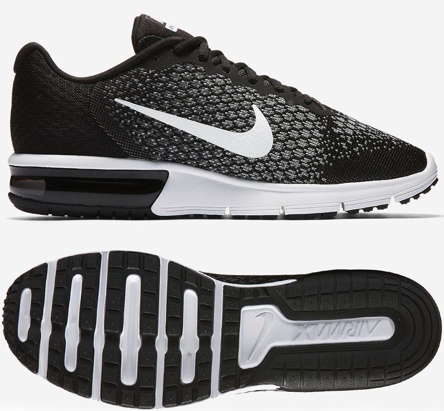 new products 13700 e1d18 Nike Buty męskie Air Max Sequent czarne r. 44 (852461 005) w Sklep-presto.pl