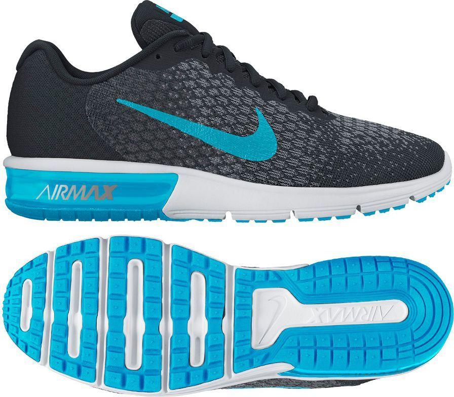 e56f61a5 Nike Buty Nike Air Max Sequent 2 kolor czarny rozmiar 40 (852461 004 ...