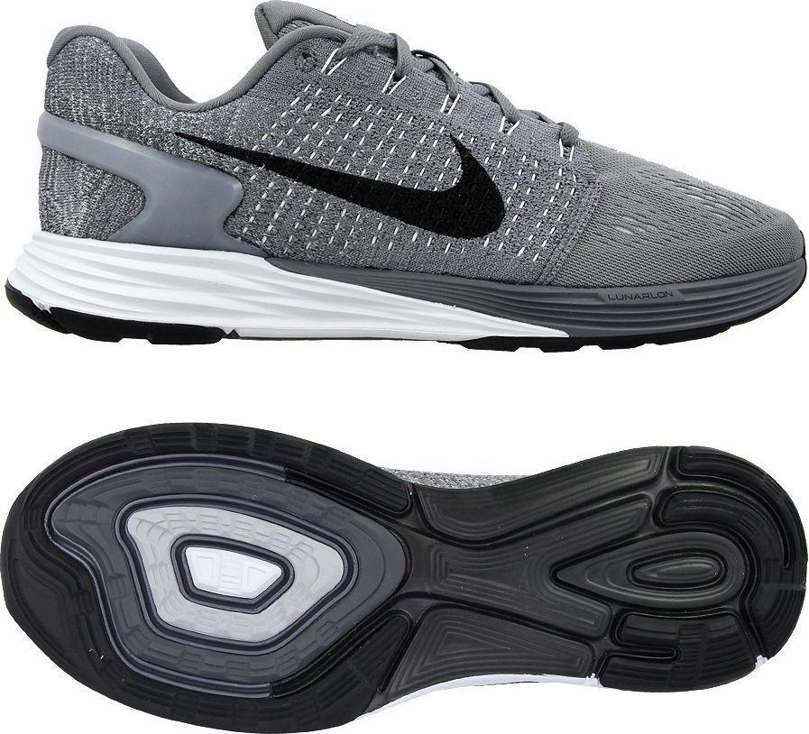 hot sale online 75d84 8632f Nike Buty męskie Lunarglide 7 szare r. 44 1 2 (747355 002) w Sklep-presto.pl