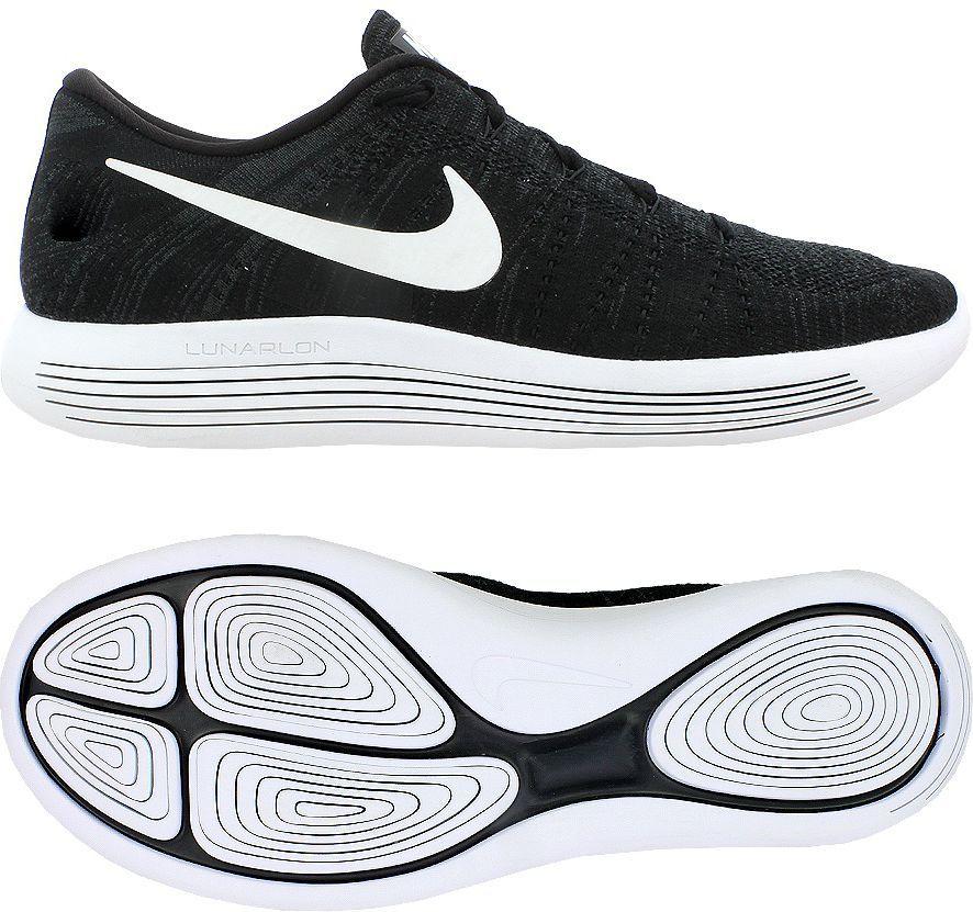Nike Lunarepic Low Flyknit 2 CzarnyBiałyAntracyt