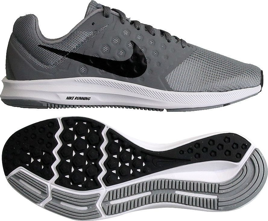 Nike Buty męskie Downshifter 7 szare r. 44 12 (852459 009) ID produktu: 1561913