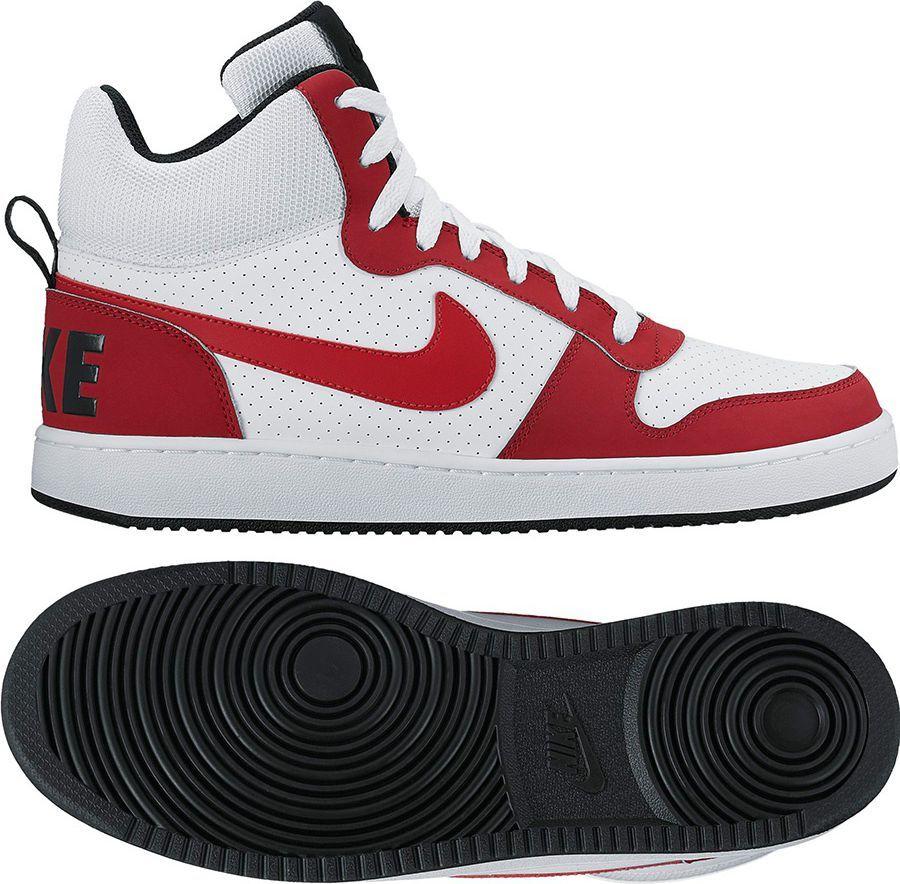 Nike Buty Court Borough Mid kolor biały r. 42 (838938 101) ID produktu: 1561929