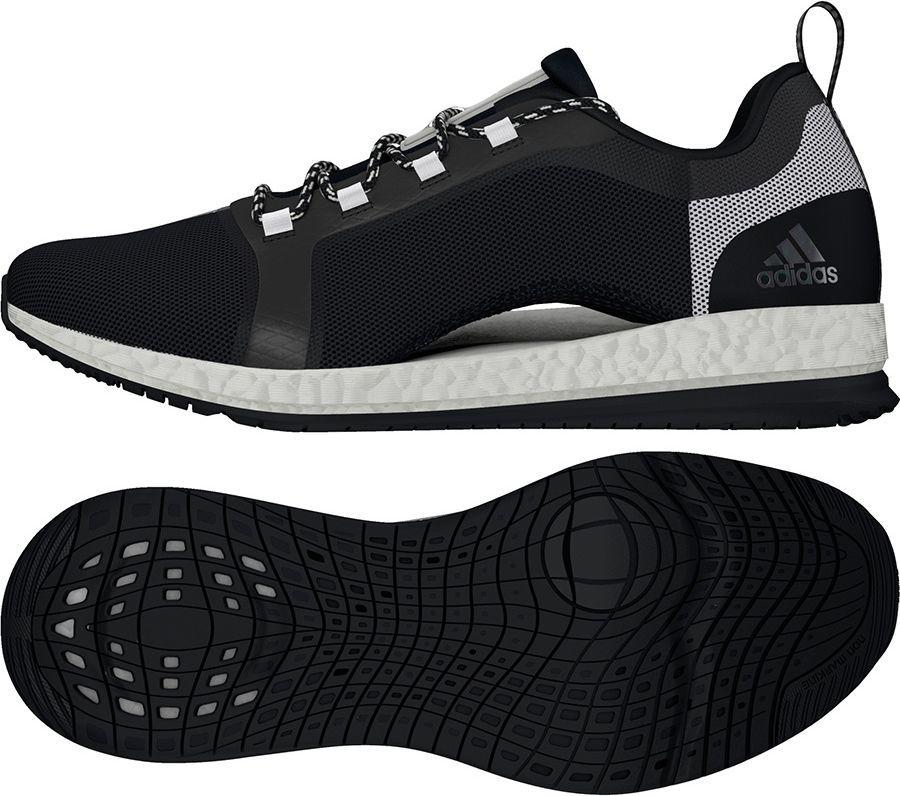buty adidas czarno białe ala tr