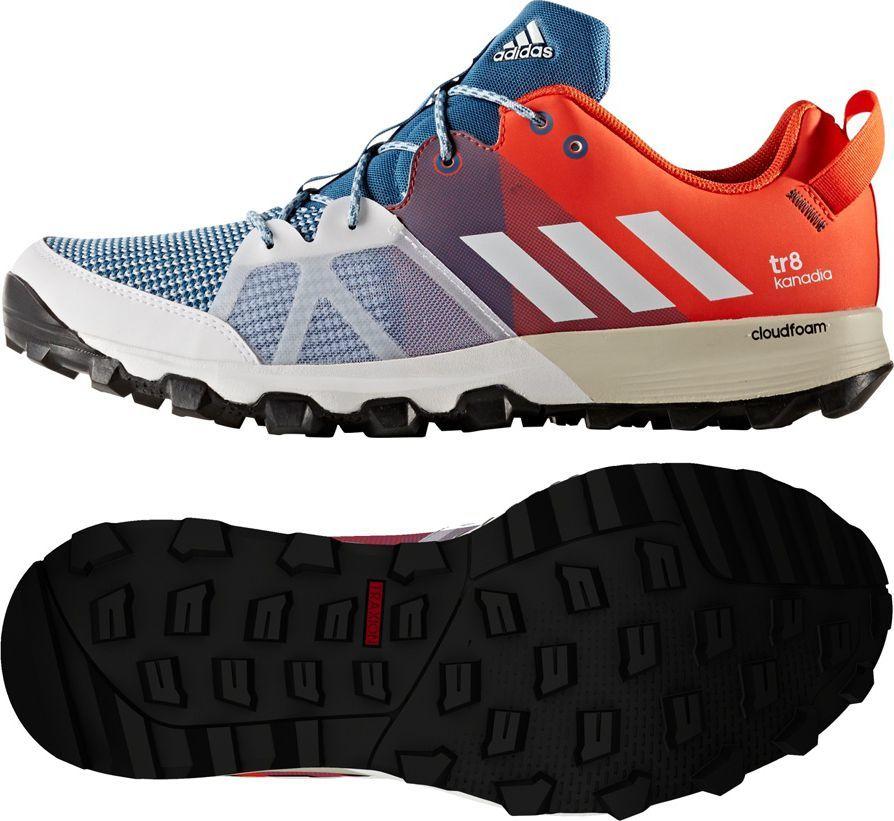 Adidas Buty męskie Kanadia 8 TR M czerwone r. 44 (BB4414) ID produktu: 1562336