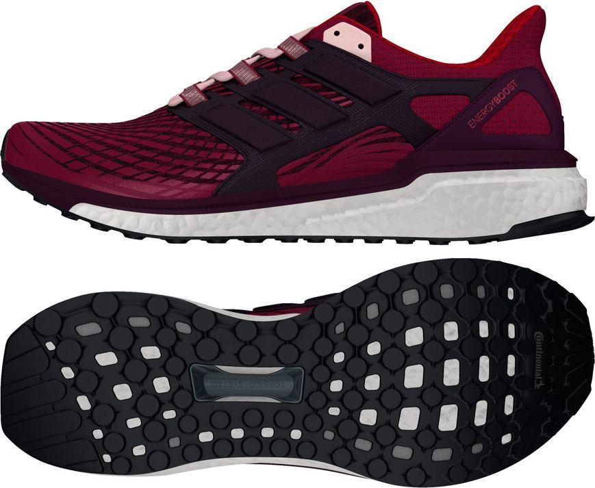 outlet new arrive official shop Adidas Buty damskie Energy Boost czerwone r. 37 1/3 (CG3057) ID produktu:  1562394