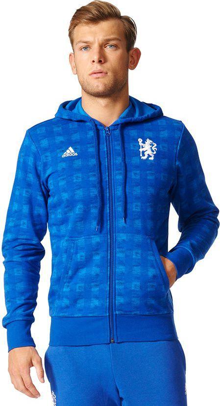 Adidas Bluza męska Chelsea CFC SSP FZ HD niebieska r. XL (B47773) ID produktu: 1562786