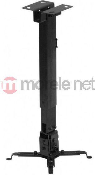 Uchwyt do projektorów Reflecta UCHWYT SUFITOWY DO PROJEKTORA Tapa 430-650mm BLACK 1