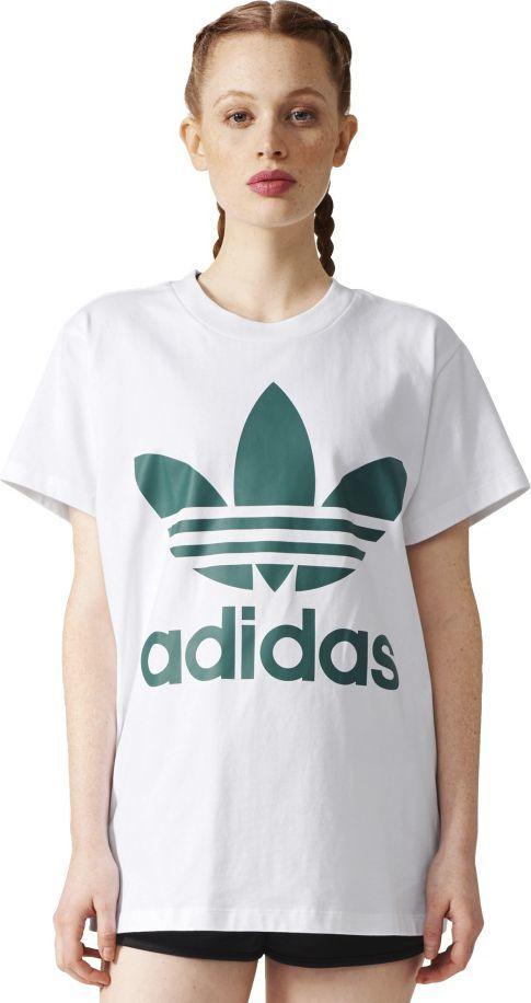 100% najwyższej jakości wyprzedaż ze zniżką odebrać Adidas Koszulka damska BIG TREFOIL TEE biała r. 40 (BR9822) ID produktu:  1563152