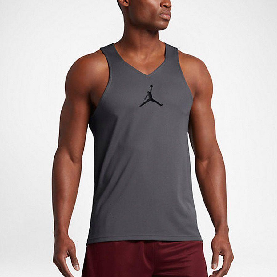 Nike Koszulka męska Jordan Men`s Ultimate Fight Basketball Jersey szara r. M (842314 021) ID produktu: 1563384