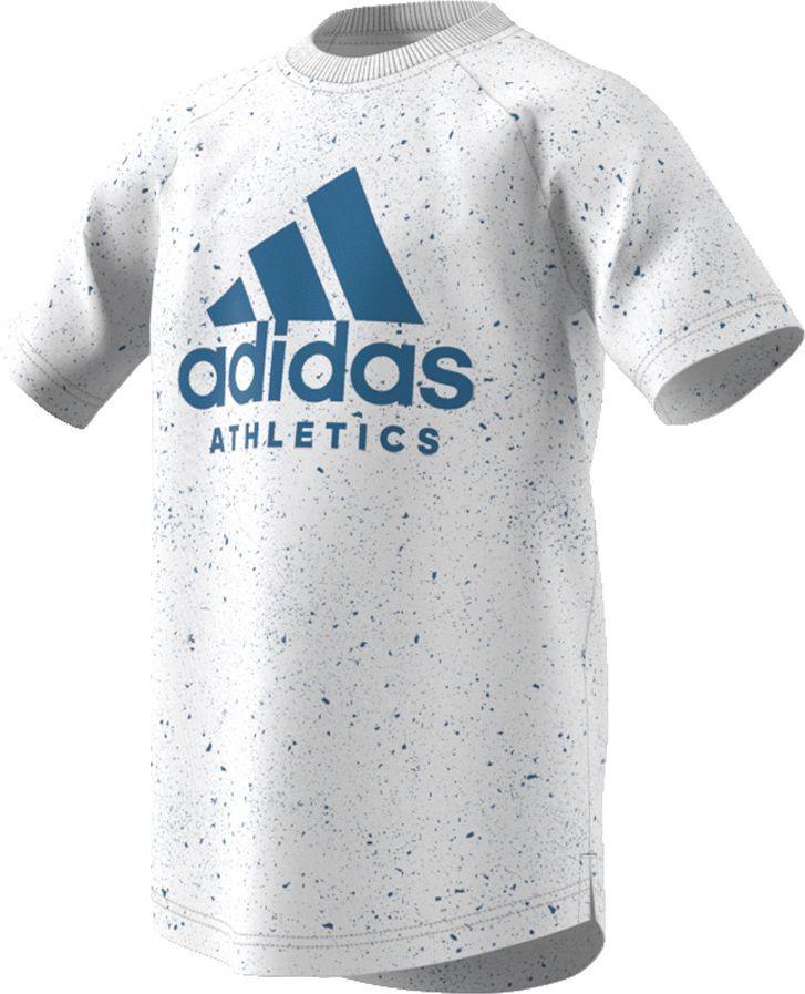 b3de934fe Adidas Koszulka dziecięca YB PRINTED TEE szara r. 164 cm (BK3511) w  Ubieramy.pl