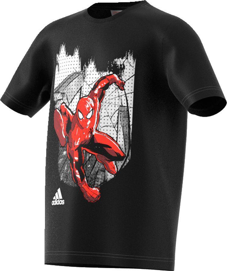 Adidas Koszulka Spidey IN NY czarny r. 164 (S97034) ID produktu: 1564795