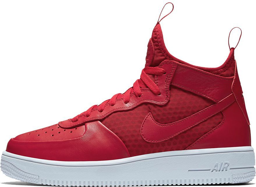 Nike buty męskie Air Force 1 MID czerwone r. 40.5 (864014