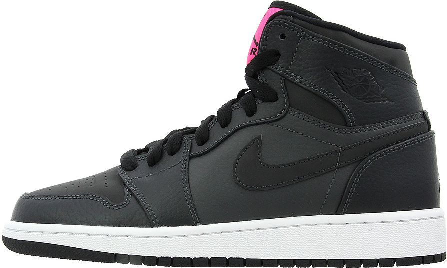 Nike Buty damskie Jordan Girl`s Air 1 Retro High Shoe czarne r. 36 1 2  (332148 004) w Sklep-presto.pl a37a5246160
