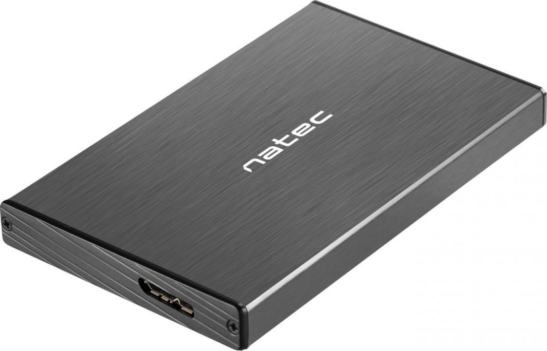 """Kieszeń Natec 2.5"""" SATA - USB 3.0 Rhino Go Czarna (NKZ-0941) 1"""