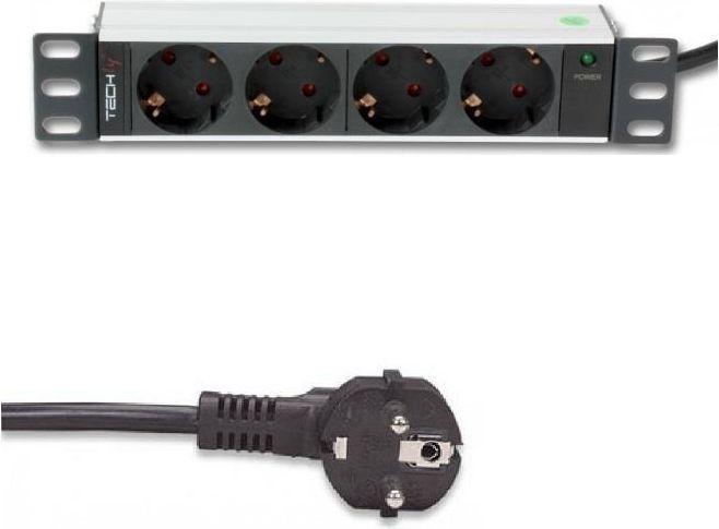 """Techly TechlyPro Rack 10"""" 1U 1,8m (100464) 1"""