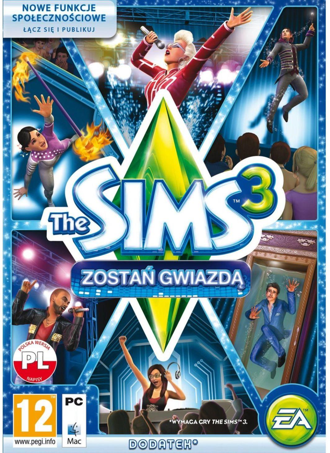 The Sims 3: Zostań gwiazdą PC, wersja cyfrowa 1