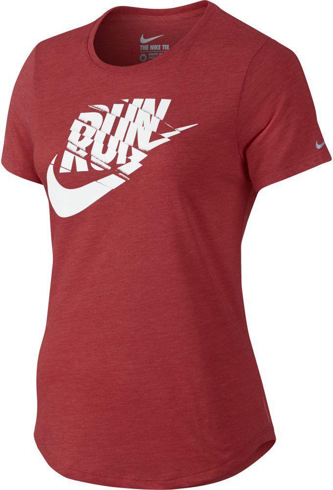 137959376d55ae Nike Koszulka damska Run P Orgametric Swoosh Tee czerwona r. XS (776636  672) w Sklep-presto.pl