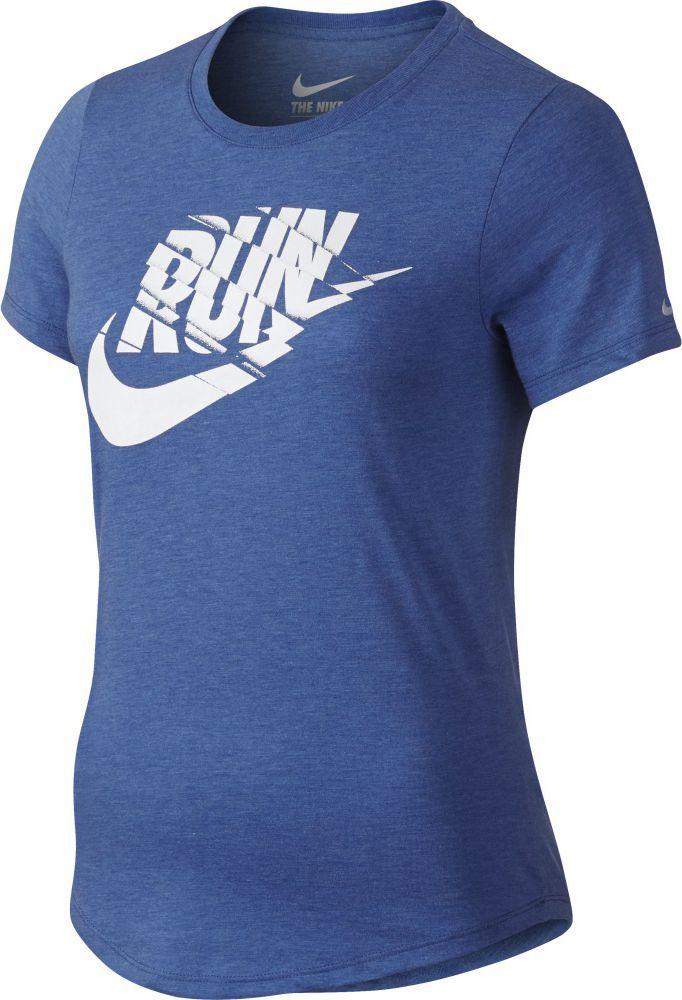 2843abbb265ba9 Nike Koszulka Run P Orgametric Swoosh Tee niebieska r. L (776636 456) w  Sklep-presto.pl