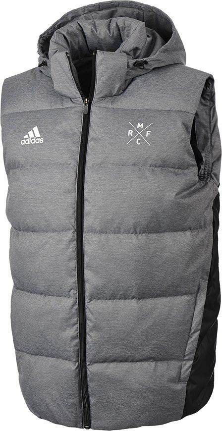 Adidas Kamizelka męska Real Down Vest szara r. S (M30989) ID produktu: 1574612