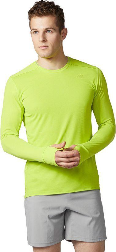 Adidas Bluza męska SN LS Tee żółta r. M (BQ7695)