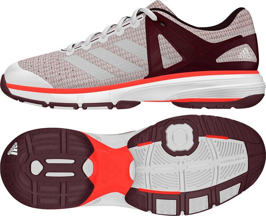 03308592221 Adidas Buty adidas Court Stabil 13 W BB1818 BB1818 szary 40 2 3 - BB1818 w  Sklep-presto.pl