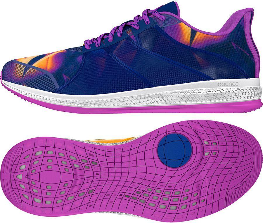 Adidas Buty damskie Gymbreaker Bounce fioletowe r. 40 (BB3980) ID produktu: 1575036