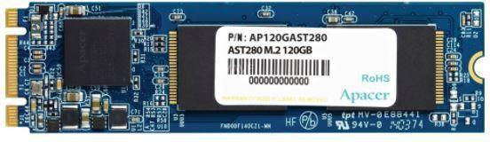 Dysk SSD Apacer AST280 120 GB M.2 2280 SATA III (AP120GAST280-1) 1