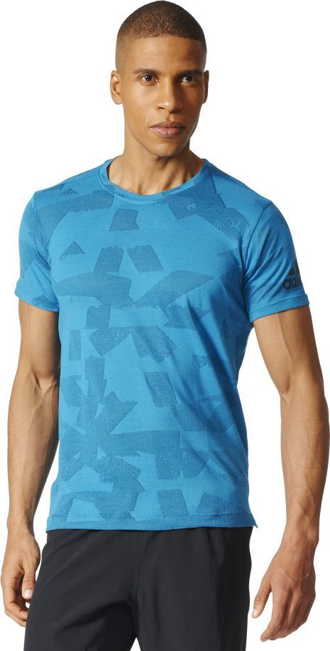 Adidas Koszulka męska Freelift Elite niebieska r. M (BR4098) ID produktu: 1576082