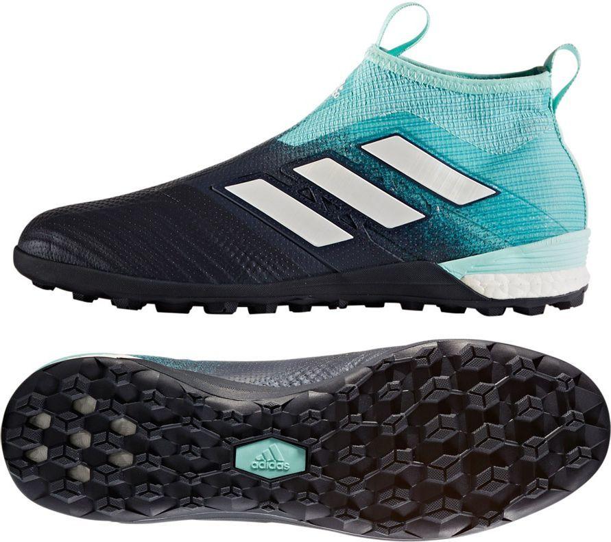 Adidas Buty pi?karskie Ace Tango 17+Purec TF czarno niebieskie r. 42 23 (BY1942) ID produktu: 1576488
