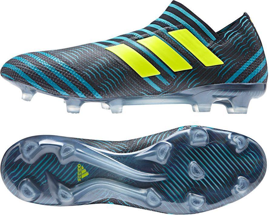 różne wzornictwo przed Sprzedaż na stopach o Adidas Buty piłkarskie Nemeziz 17+ 360 Agility FG niebieskie r. 45 1/3  (BB3677) ID produktu: 1576497