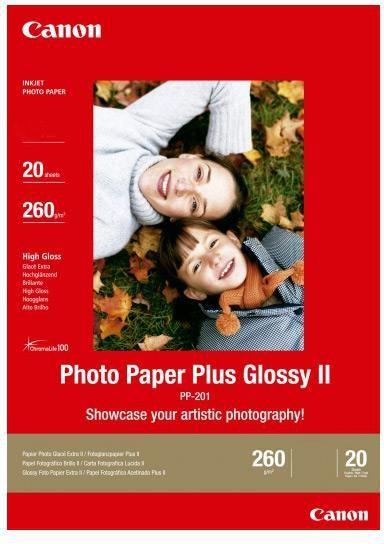 Canon papier Photo Plus 2311B019 / PP201 / 2311B019 (20 ark, a4) 1