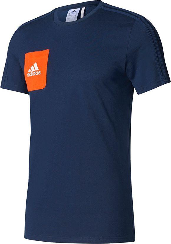 Adidas Koszulka męska Tiro 17 Tee granatowa r. XL (BQ2663) ID produktu: 1576971