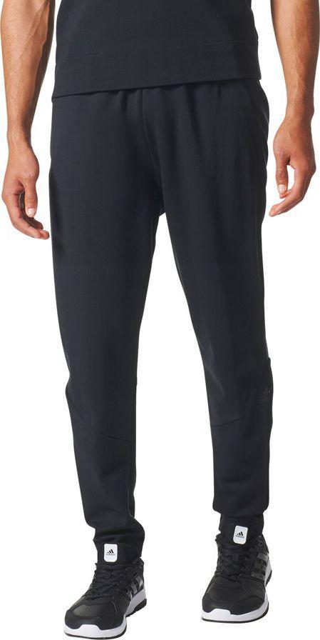 Adidas Spodnie męskie ZNE Pant czarny r. S (BQ7023) ID produktu: 1578296