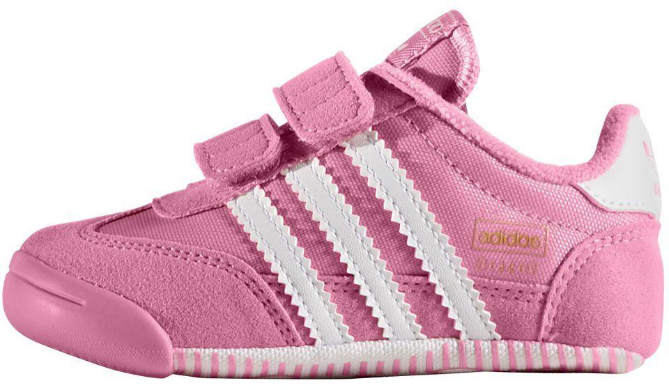 Adidas Buty dziecięce Originals Dragon L2W różowe r. 21 (BB5236) ID produktu: 1578544