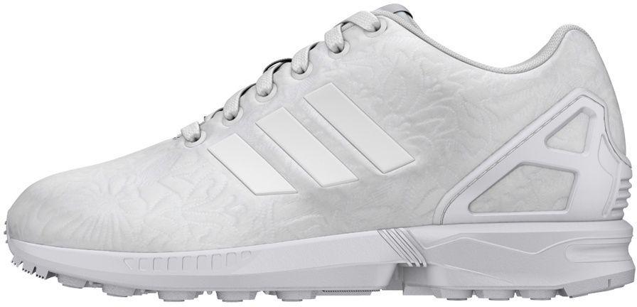 8acbd0ec Adidas Buty damskie Originals ZX Flux W białe r. 38 2/3 (S76590) w  Sklep-presto.pl