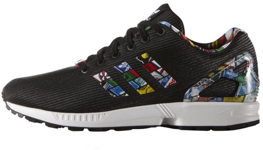 9674257077dc0 Adidas Buty męskie Originals ZX Flux czarne r. 40 2/3 (S77720) w  Sklep-presto.pl