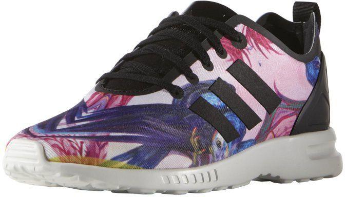 Adidas Buty damskie Originals ZX Flux ADV Smooth czarno różowe r. 40 (S82937) w Sklep presto.pl