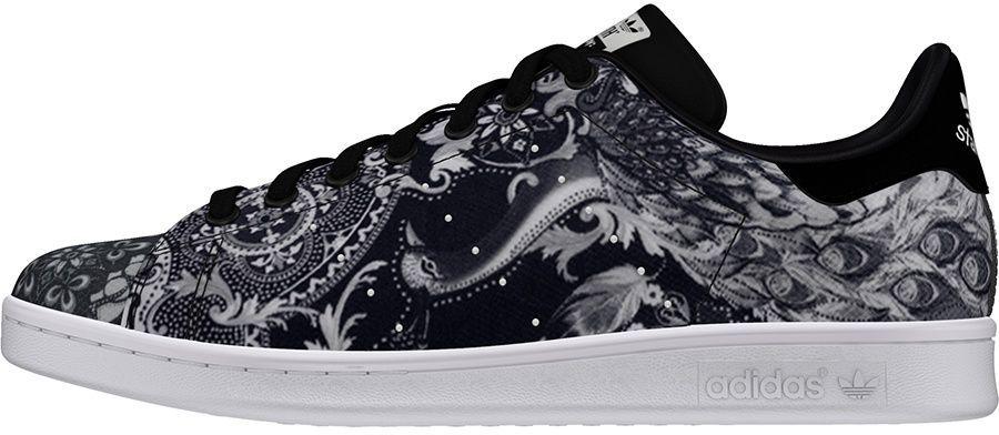 Nowe Produkty brak podatku od sprzedaży urok kosztów Adidas Buty męskie Originals Stan Smith czarno-białe r. 42 2/3 (S76667) ID  produktu: 1579238