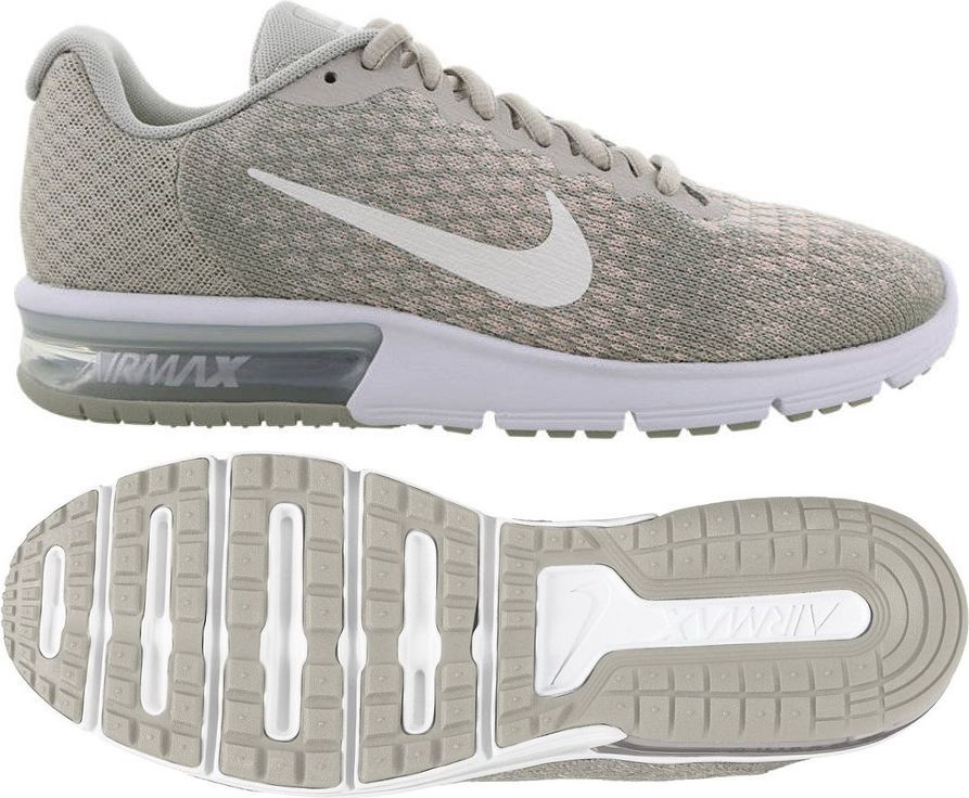 Nike Buty damskie biegowe Air Max Sequent 2 szare r. 36 12 (852465 011) ID produktu: 1580193