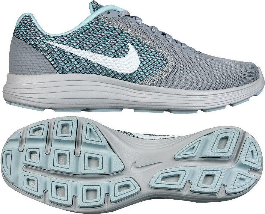 bbaa5c02 Nike Buty damskie biegowe Revolution 3 szaro-niebieskie r. 38 1/2  (819303-023) w Sklep-presto.pl