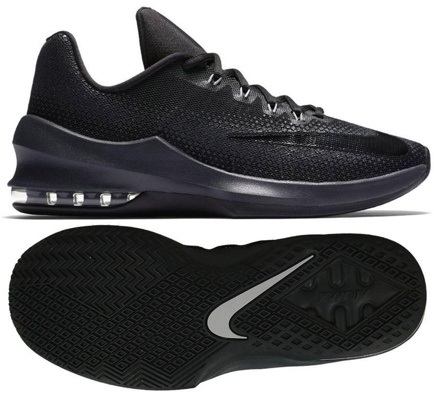 Buty koszykarskie Air Max Infuriate III Low Nike (czarne